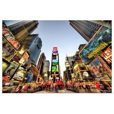 Poster Print Wall Art entitled Times Square, New York City
