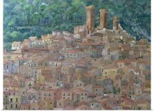 Poster Print Wall Art entitled Pacentro, Abruzzi, Italy