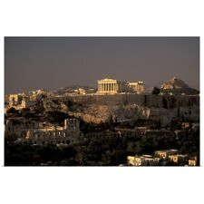 Poster Print Wall Art entitled Greece, Athens, The Acropolis, Parthenon From