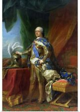 Poster Print Wall Art entitled Louis XV, King of France and Navarre, 1750