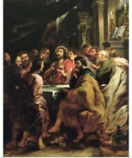 Poster Print Wall Art entitled The Last Supper, 1630-32