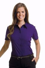 Kustom Kit KK728 Womens Work Blouse Short Sleeve Shirt