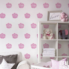 Rose stencil pattern nursery decorating paint stencil art craft Ideal Stencils