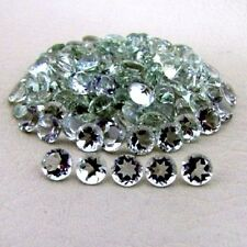 Natural Green Amethyst Round Faceted Cut Calibrated Size 4mm- 20mm Loose Gemston