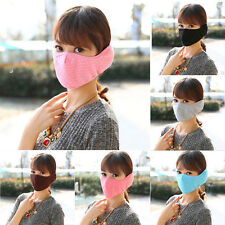 New Unisex Warm Outdoor Cycling Anti-Dust Mouth Face Mask Respirator Multicolor