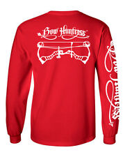 Bow Huntress Women's Long sleeve hunting t shirt,deer hunting,compound bow,