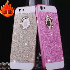 Luxury Bling Glitter Crystal Hard Back Phone Case Cover For iPhone 5s 6 6S 6Plus