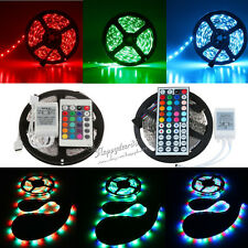 5M 3528 5050 5630 White RGB 300 SMD LED Flexible Waterproof Strip Light  DC12V