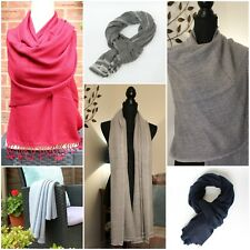 Pure Cashmere Pashmina Scarf Shawl Wrap ''IDEAL GIFT'' C