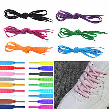 """Fad Flat 47"""" 54"""" Athletic Shoe Laces Shoelaces Bootlaces Strings Sneakers Boot"""