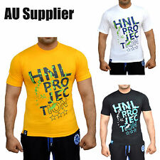 Men T Shirt New HNL Brand Designer Crew Neck Cotton Casual T Shirt S M L XL