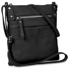 CASPAR Ladies Leather Bag Shoulder Bag Handbag Messenger Bag MADE IN ITALY