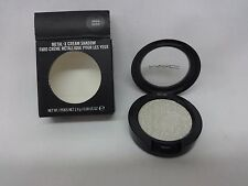 Authentic New MAC Metal-X Metal X Eye Creme Shadow Virgin Silver New in Box NIB
