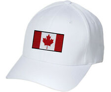 Canadian Flag Canada Pride Hockey Embroidered Hat 4 Colors