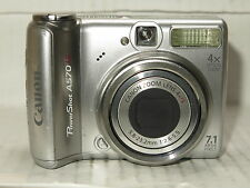 Canon A570  Digital Camera FAULTY BROKEN for Parts / Repair only