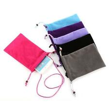 Durable Cell Phone Mobile Soft Light Weight Sleeve Case Pouch Bag Multi-colors