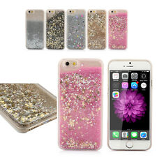 Luxury Glitter Sand Star Quicksand Clear Cover Case For Apple iPhone 6 6S & Plus