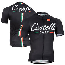 Mens Fashion Cycling Jersey Gear Short Sleeve Bike Shirt Outfits Maillot Garment
