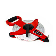 ALLIANCE MEASURING TAPE OPEN REEL - QUICK AND EASY REELING - 20M UP TO 100M