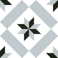 TILE SAMPLE OF LIBERTY SUCRE 1 VICTORIAN PATTERN ENCAUSTIC  WALL & FLOOR TILES