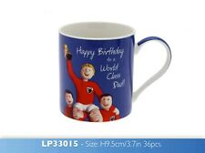 Happy Birthday to a World Class Dad & Nephew Happy Birthday Mug/Cup Gift Boxed
