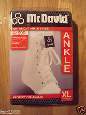 McDavid 199R Lightweight Ankle Brace Support Sport Athletics Arthritis X-Large