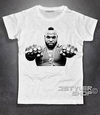 Men's T-shirt PE BARACUS Mr. T A-TEAM Murdoc Hannibal Smith no happinness