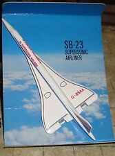MATCHBOX - RARE SKYBUSTERS - SUPERSONIC AIRLINER - SB-23 - BOXED