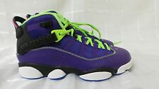 New! Nike Mens Air Jordan 6 Rings Basketball Shoes 322992-515 110S