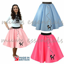 50's Poodle Skirt, Felt, Rock and Roll GREASE HAIRSPRAY costume Fancy Dress