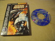 TITAN WARS SEGA SATURN GAME BOXED