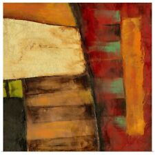 Poster Print Wall Art entitled Dynamic Abstraction I
