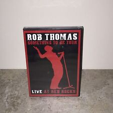 Factory Sealed Soundstage - Rob Thomas: Live at Red Rock DVD!