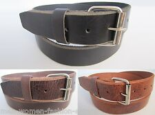 """LEATHER WORK TOOL HOLSTER BELT HANDMADE 1.5"""" SNAP ON REMOVABLE BUCKLE HEAVY DUTY"""