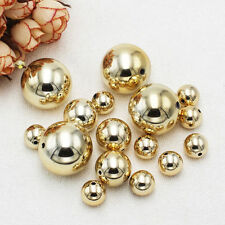 14-30mm Gold Plastic Pearl Round Loose Beads,DIY Jewelry Making !