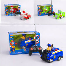 PAW PATROL PUPPY ELECTRIC RC RADIO REMOTE CONTROL CAR KID CHILDREN BOY TOY