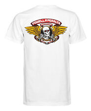 Powell Peralta T-Shirt Winged Ripper White Powell Peralta Skateboard T