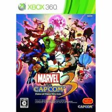 New Xbox360 Marvel vs. Capcom 3: Fate of Two Worlds Japan Import