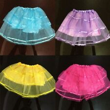 Princess New Baby Girl Kid Tulle Tutu Skirt Translucent Party Ballet Dance Dress