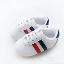 Baby Boys Girls Soft Sole Crib PU Leather Anti-slip Shoes Toddler Sneakers Boots