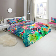 HIP PARADA Bohemian Doona Quilt Cover Set Single Double Queen King Size Bed