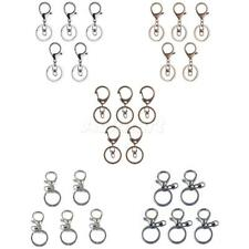 5x Lobster Clasps Swivel Trigger Clip Snap Hook Keyring Keychain Charms Findings