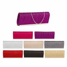 Women Ladies Glitter Sparkling Evening Party Clutch Bag Purse