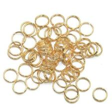 WHOLESALE 200PCS METAL DOUBLE LOOP KEYRING KEY CHAIN CLASPS CONNECTOR FINDINGS