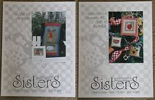 Sisters & Best Friends  Counted Cross-Stitch Pattern  Assorted Designs