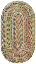 Capel Rugs Kill Devil Hill Wool Country Braided Area Rug Dusty Multi #910
