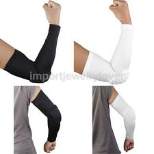 Honeycomb Pad Crashproof Team Sport Basketball Shooting Arm Sleeve Elbow Support