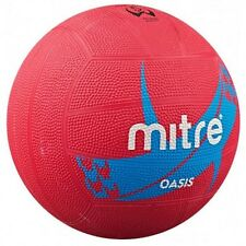 Mitre Oasis Netball Outdoor Playing Match Training & Practice Ball Size 4 or 5