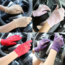1Pcs Driving Mittens Lady Sexy Lace High Quality Summer Driving Sunscreen Gloves