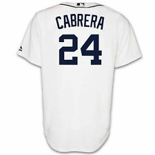 Miguel Cabrera Detroit Tigers Home Replica Jersey by Majestic